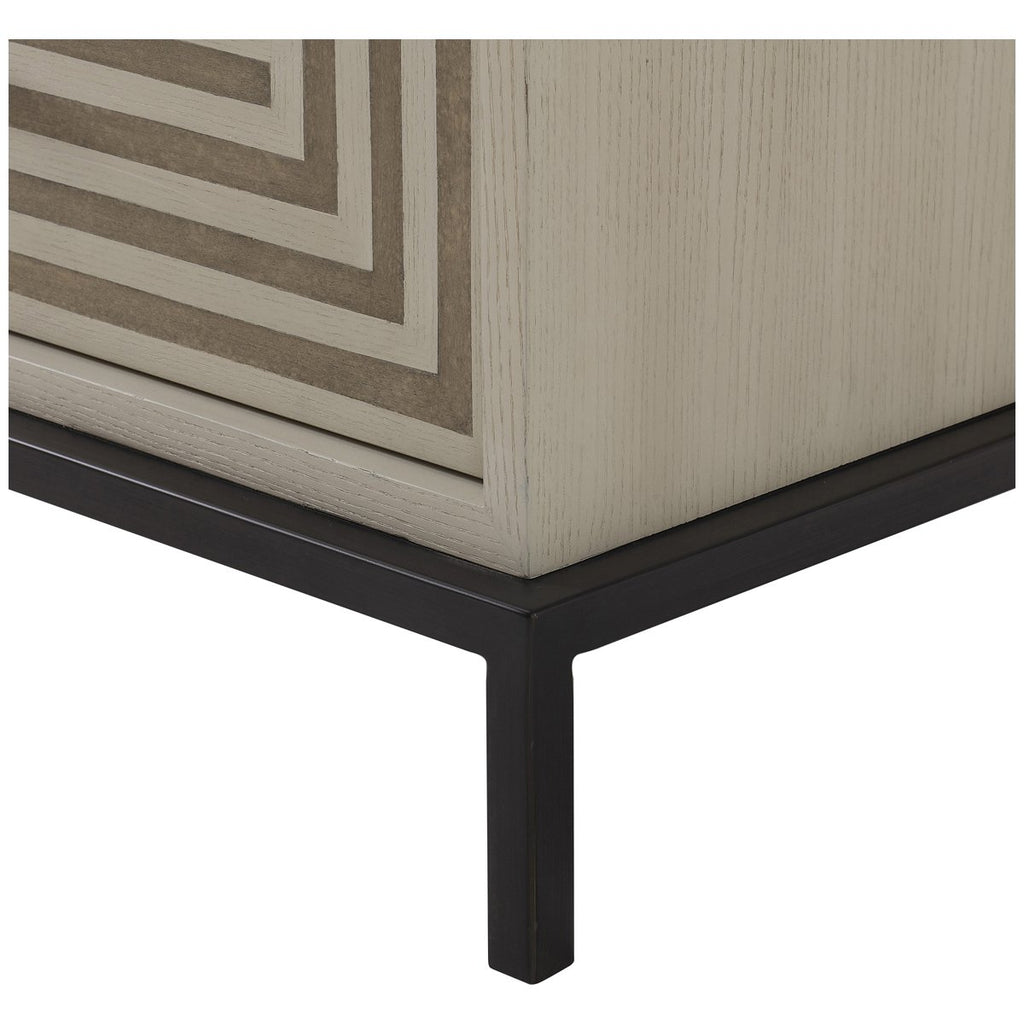 Reagan Hayes Maria 2-Drawer Nightstand - Small