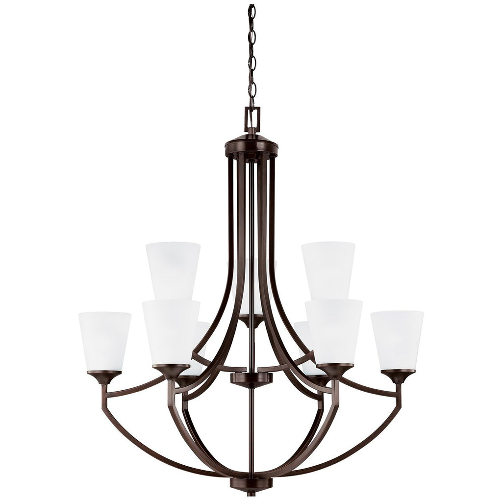 Sea Gull Lighting Hanford 9-Light Chandelier