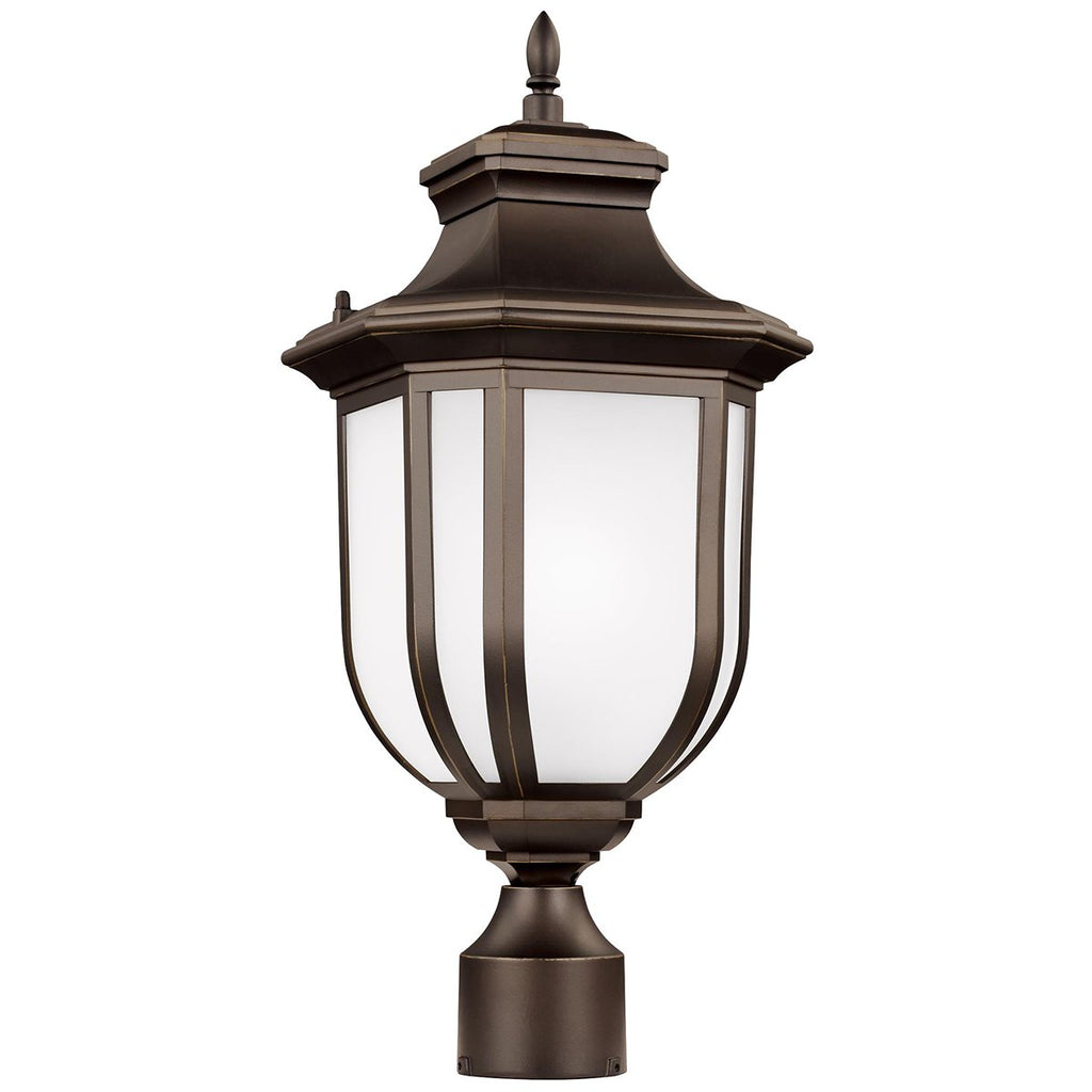 Sea Gull Lighting Childress 1-Light Outdoor Post Lantern