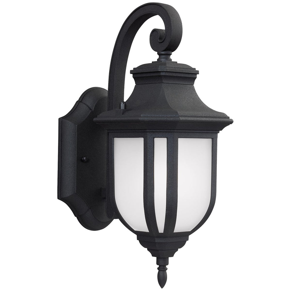 Sea Gull Lighting Childress 1-Light Outdoor Wall Lantern