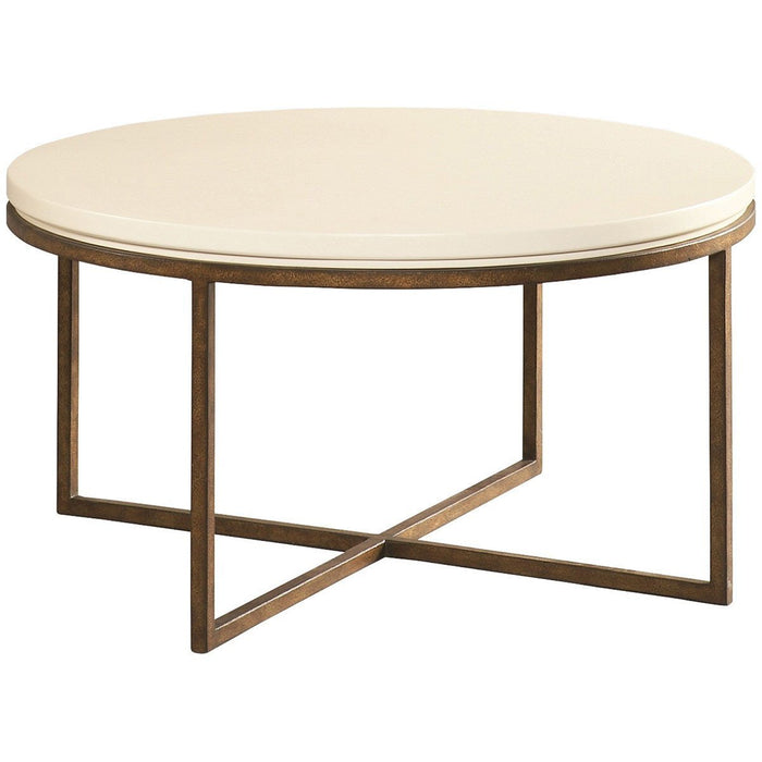 CTH Sherrill Occasional Round Cocktail Table 322-830