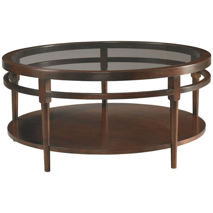 CTH Sherrill Occasional Round Cocktail Table 356-830