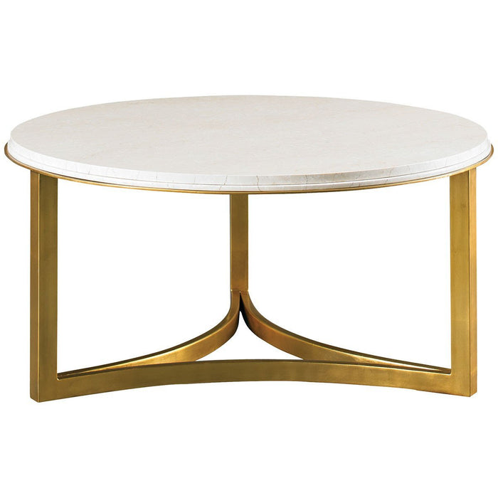 CTH Sherrill Occasional Round Cocktail Table