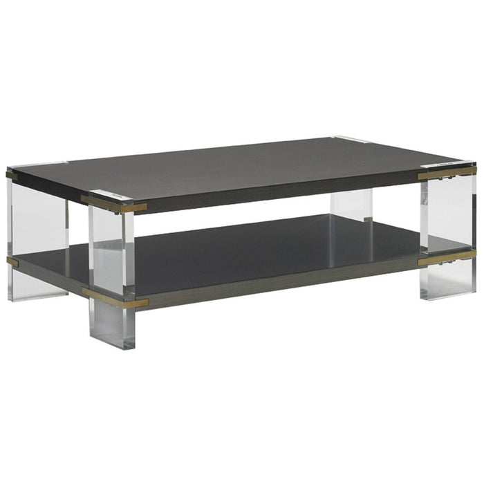 CTH Sherrill Occasional Modern Loft Theo Cocktail Table