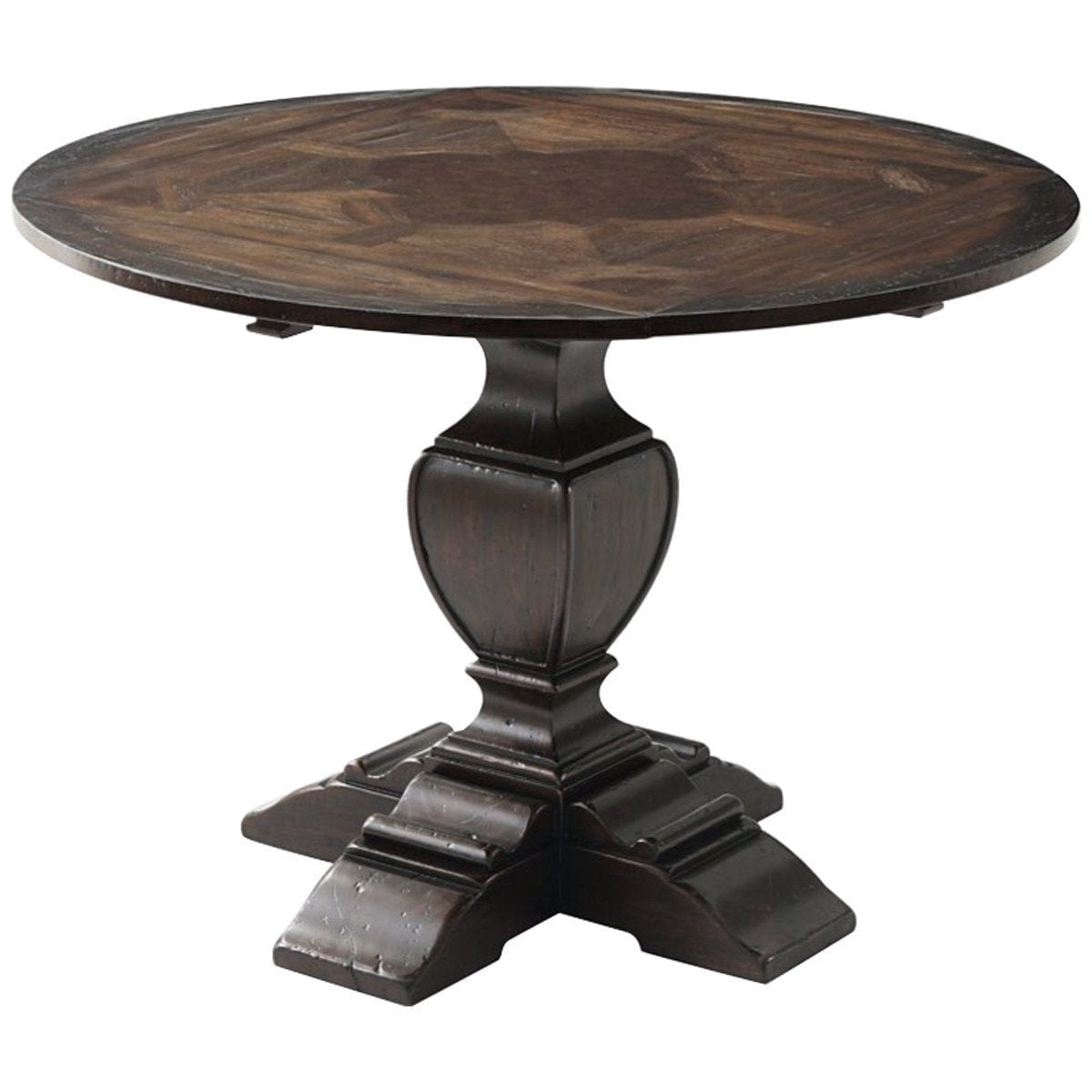 Theodore Alexander Marst Hill Square to Circle Dining Table
