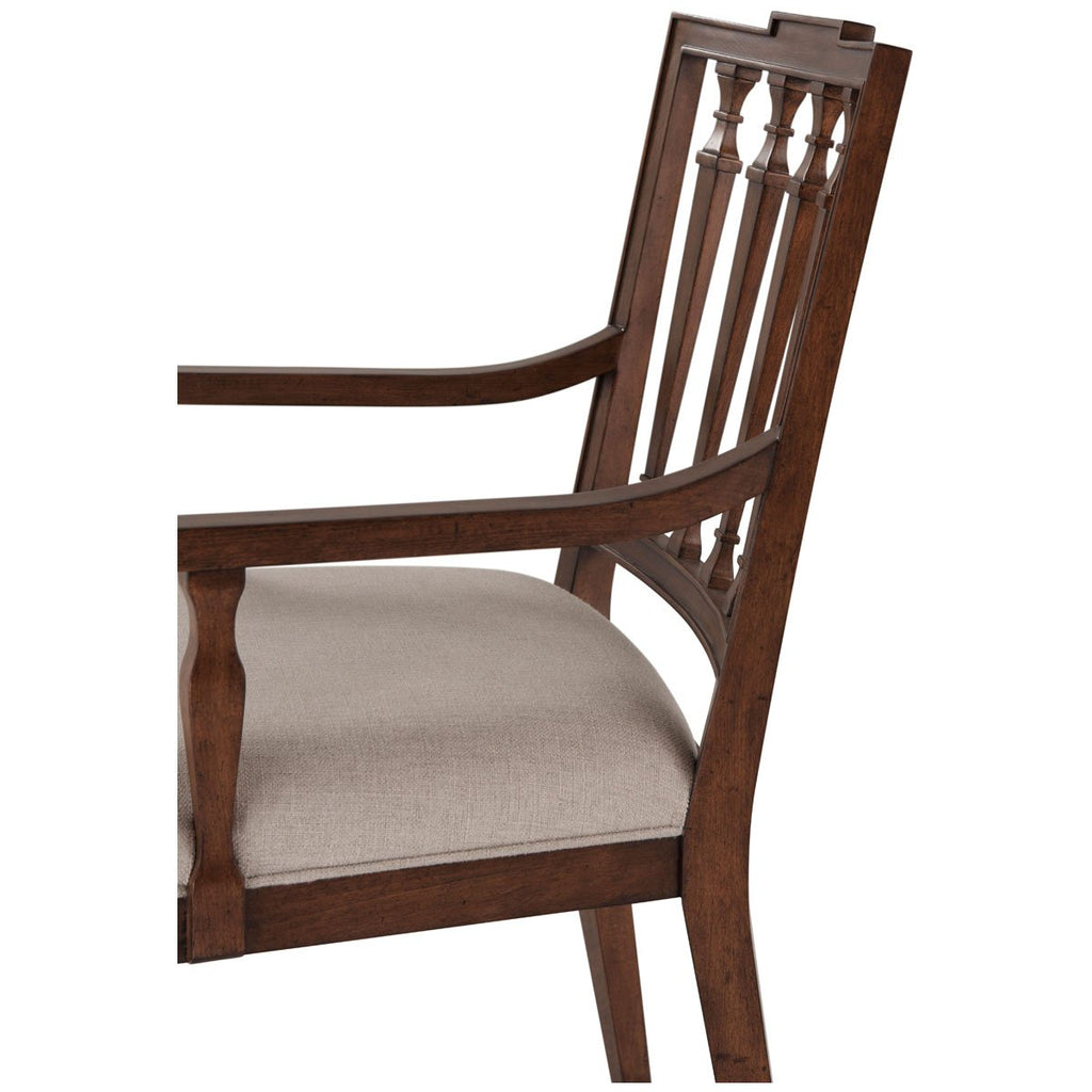 Theodore Alexander Tavel The Tristan Dining Armchair, Set of 2