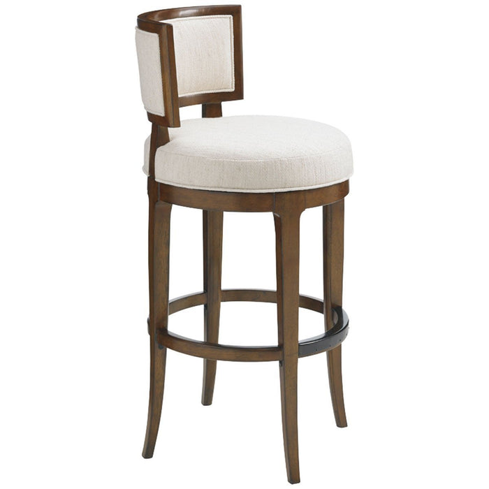 Tommy Bahama Island Fusion Macau Swivel Bar Stool