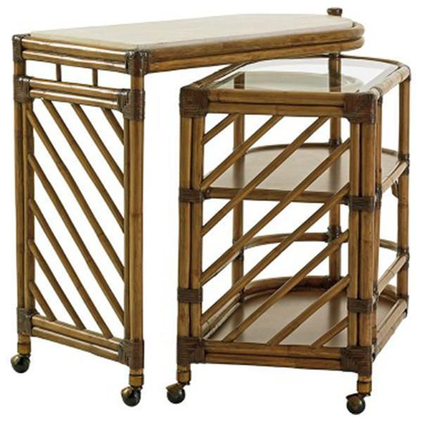 Tommy Bahama Twin Palms Cable Beach Bar Cart