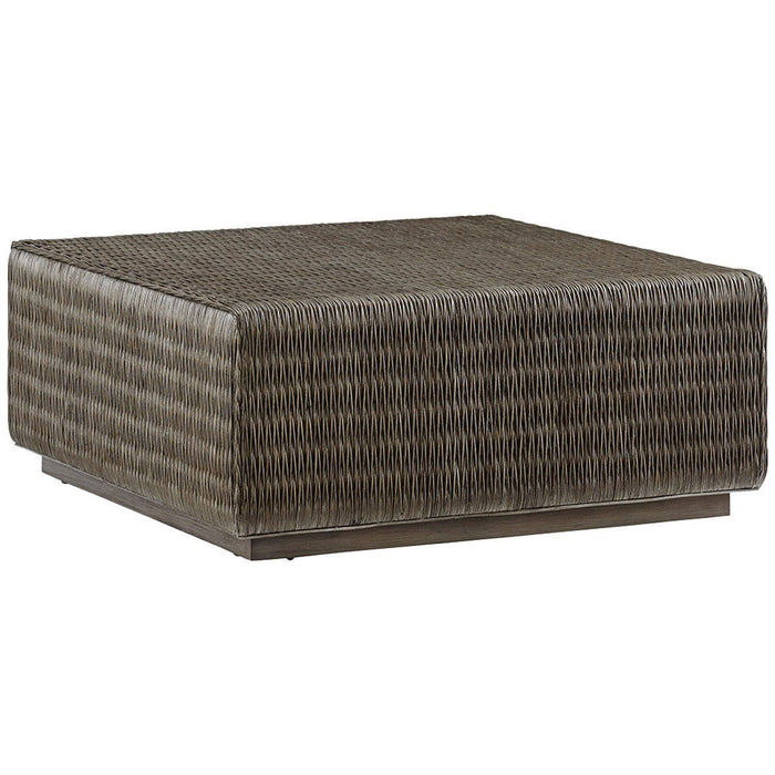 Tommy Bahama Cypress Point Seawatch Woven Cocktail Table
