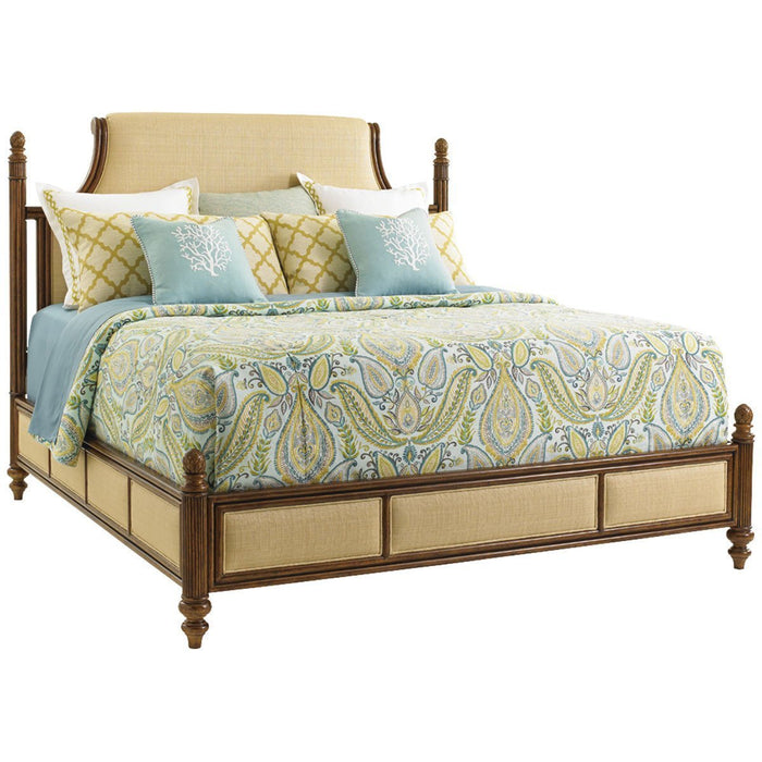 Tommy Bahama Bali Hai Orchid Bay Upholstered Panel Bed