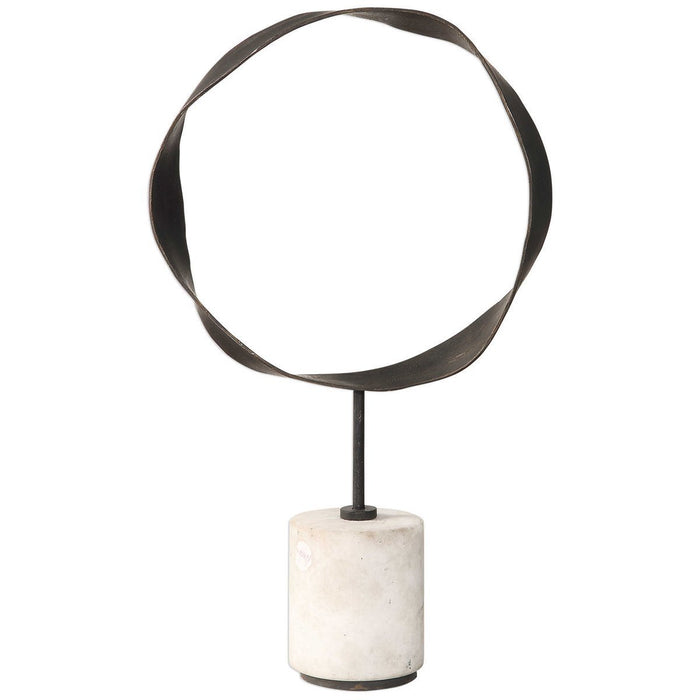 Uttermost Rilynn Metal Ring Sculpture