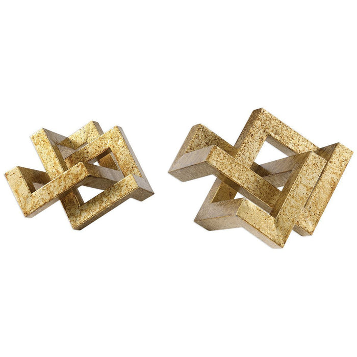 Uttermost Ayan Gold Accents, Set of 2