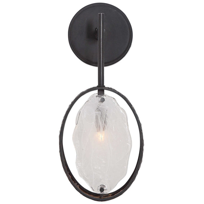 Uttermost Maxin Dark Bronze 1-Light Sconce