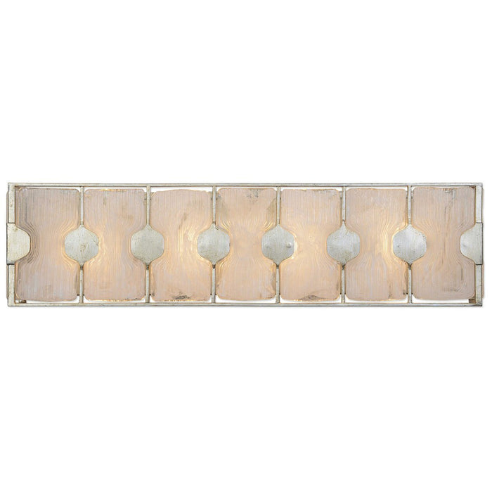 Uttermost Rene 4-Light Swirl Glass Vanity