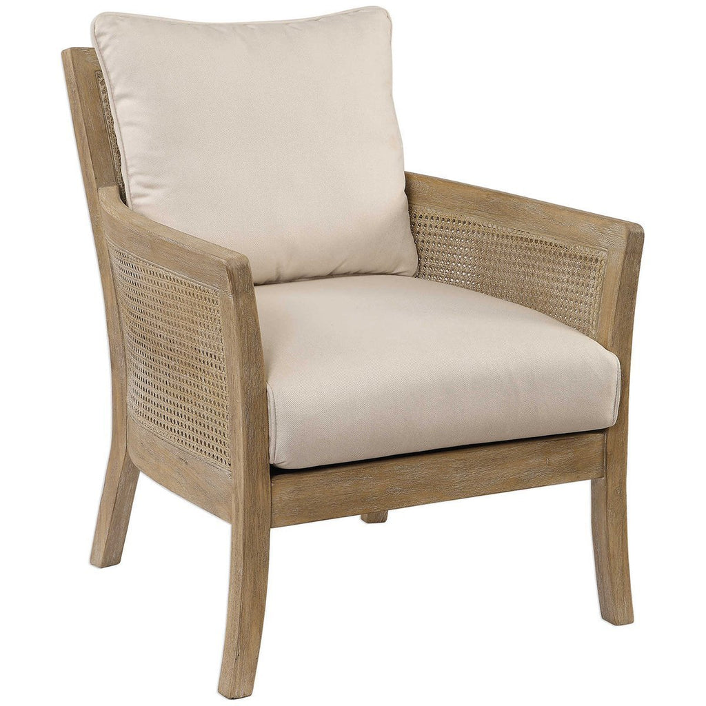 Uttermost Encore Natural Armchair