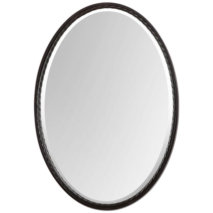 Uttermost Casalina Oil Rubbed Bronze Oval Mirror 01116