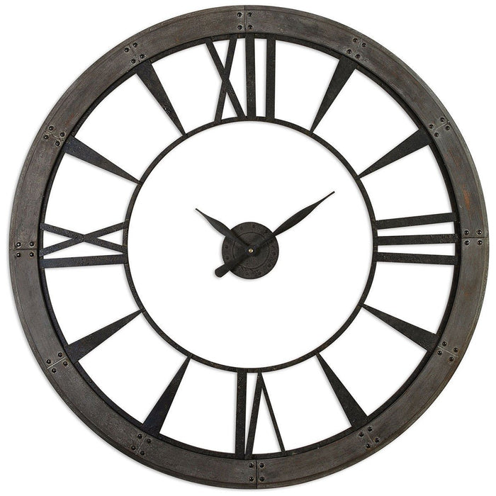 Uttermost Ronan Wall Clock, Large 06084