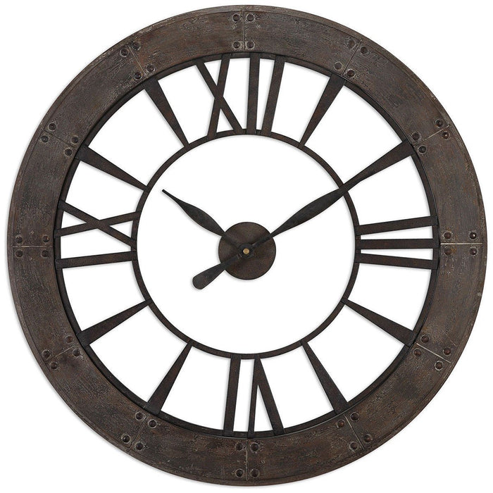 Uttermost Ronan Wall Clock 06085