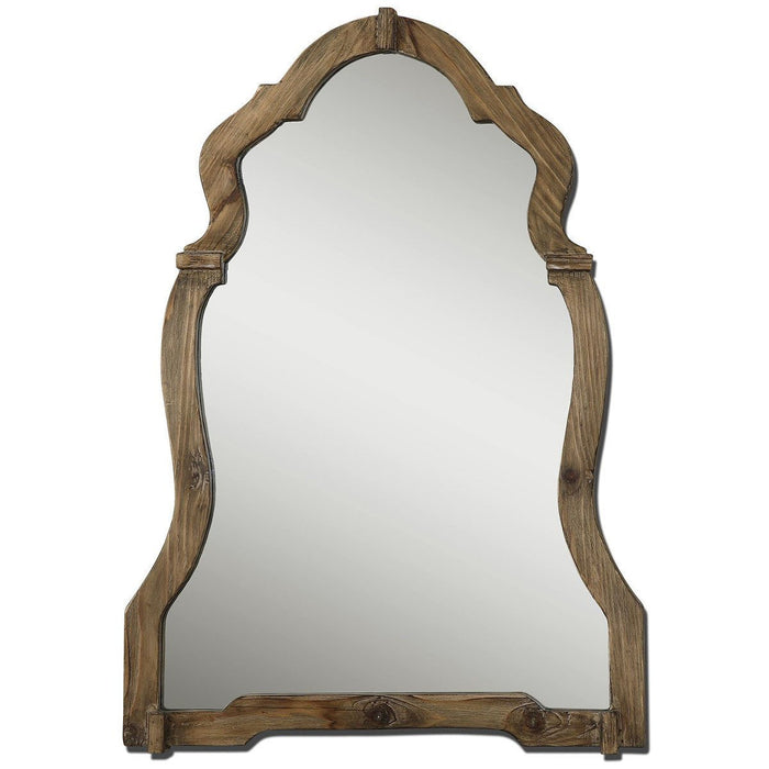 Uttermost Agustin Light Walnut Mirror 07632