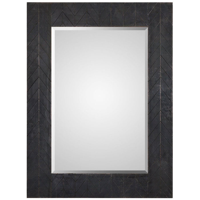 Uttermost Caprione Oxidized Dark Copper Mirror
