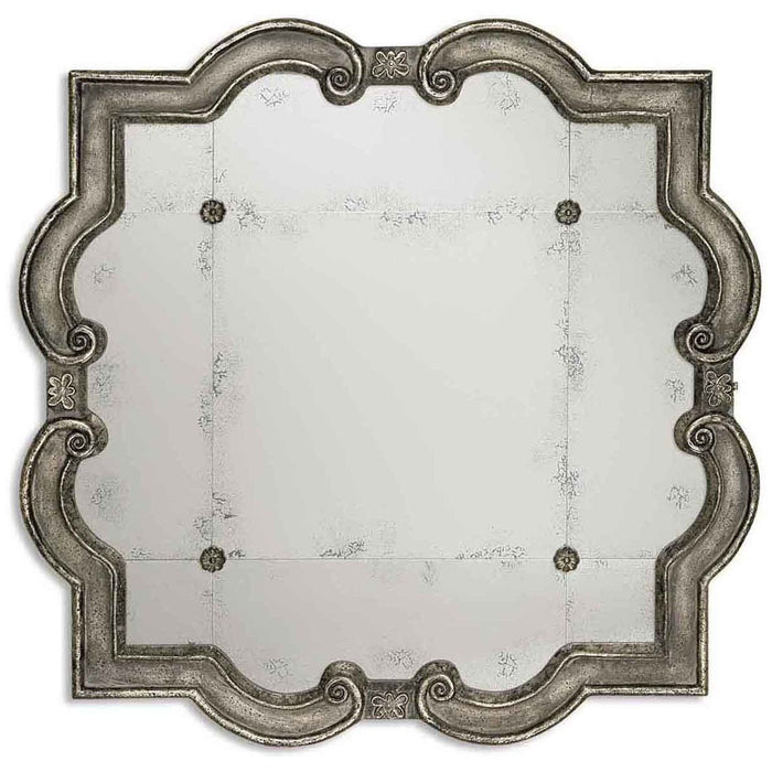 Uttermost Prisca Distressed Silver Mirror 12557 P