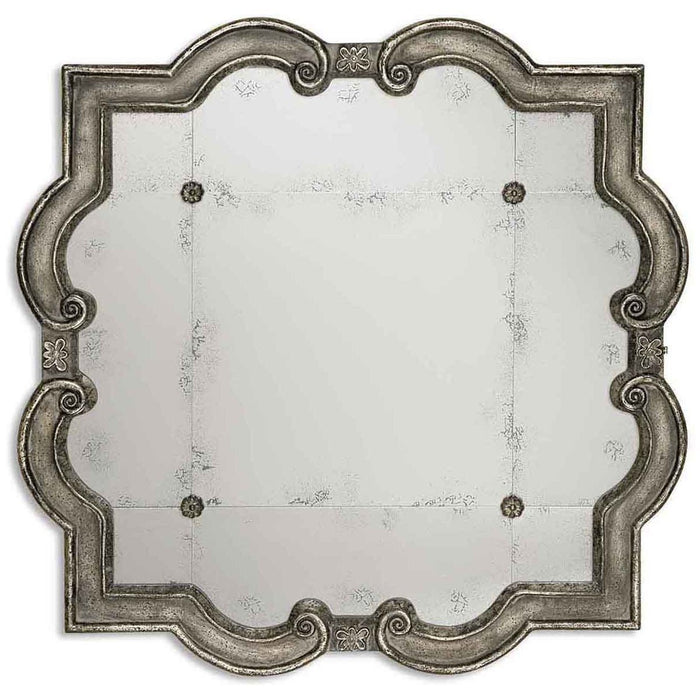 Uttermost Prisca Distressed Silver Mirror Small 12597 P