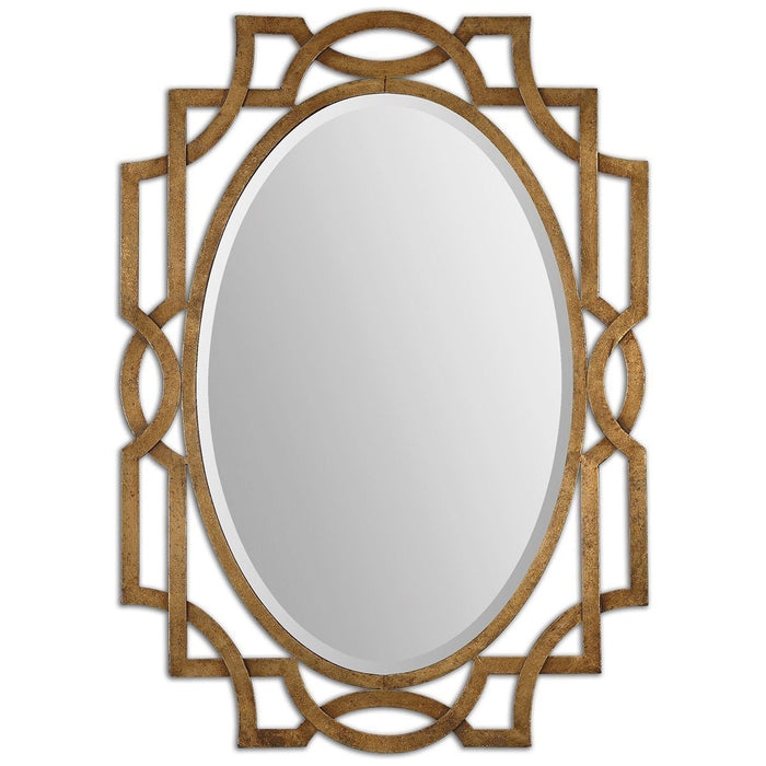 Uttermost Margutta Gold Oval Mirror 12869