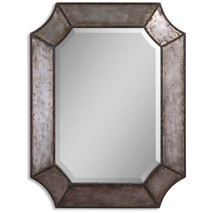 Uttermost Elliot Distressed Aluminum Mirror 13628 B