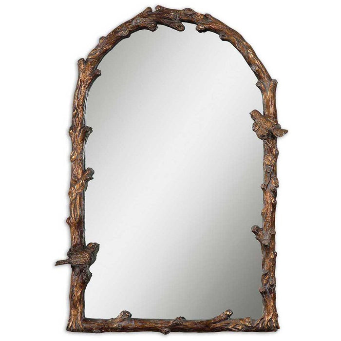 Uttermost Paza Antique Gold Arch Mirror 13774