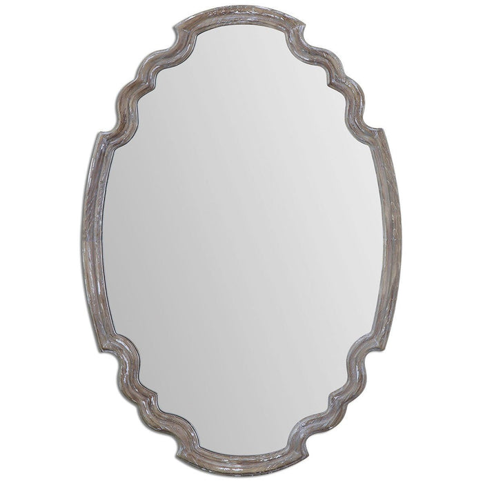 Uttermost Ludovica Aged Wood Mirror 14483