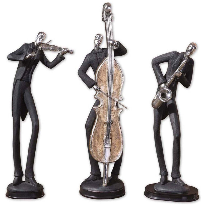 Uttermost Musicians Decorative Figurines, Set of 3 19061