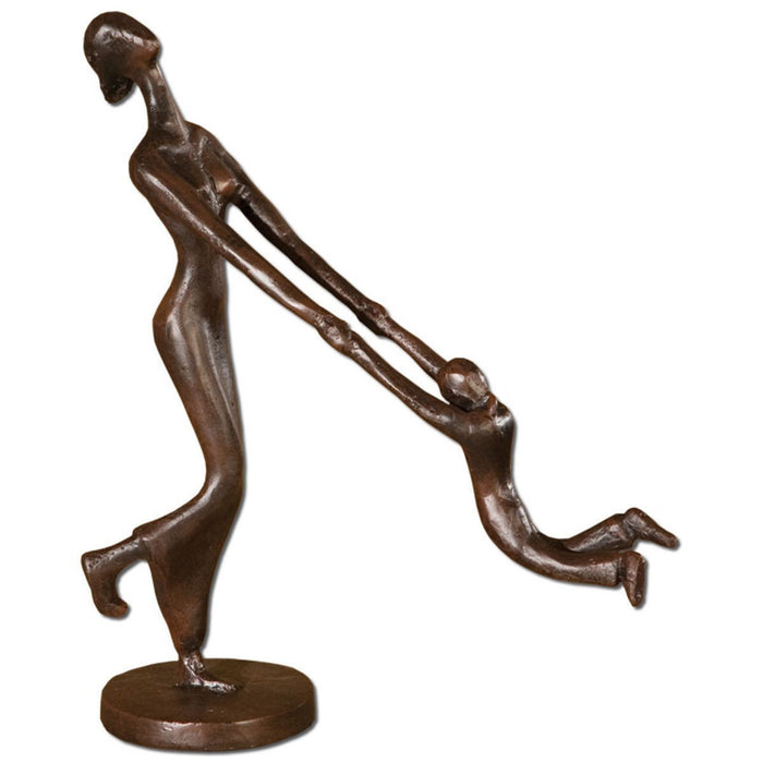 Uttermost At Play Mother & Child Sculpture 19445