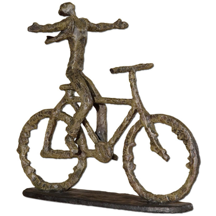 Uttermost Freedom Rider Metal Figurine 19488