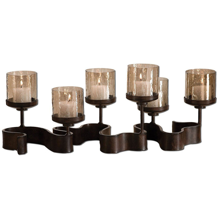 Uttermost Ribbon Metal Candleholders 19731