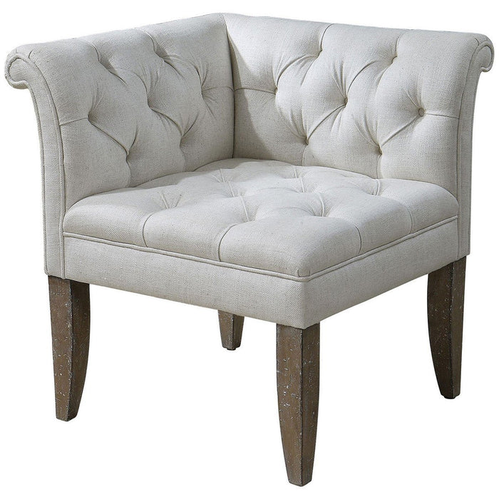 Uttermost Tahtesa Corner Chair 23125