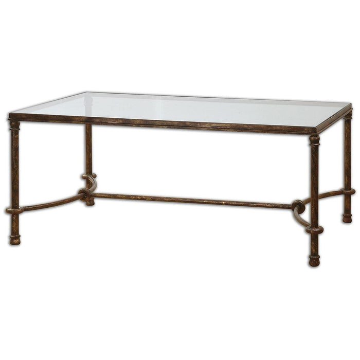 Uttermost Warring Iron Coffee Table 24333