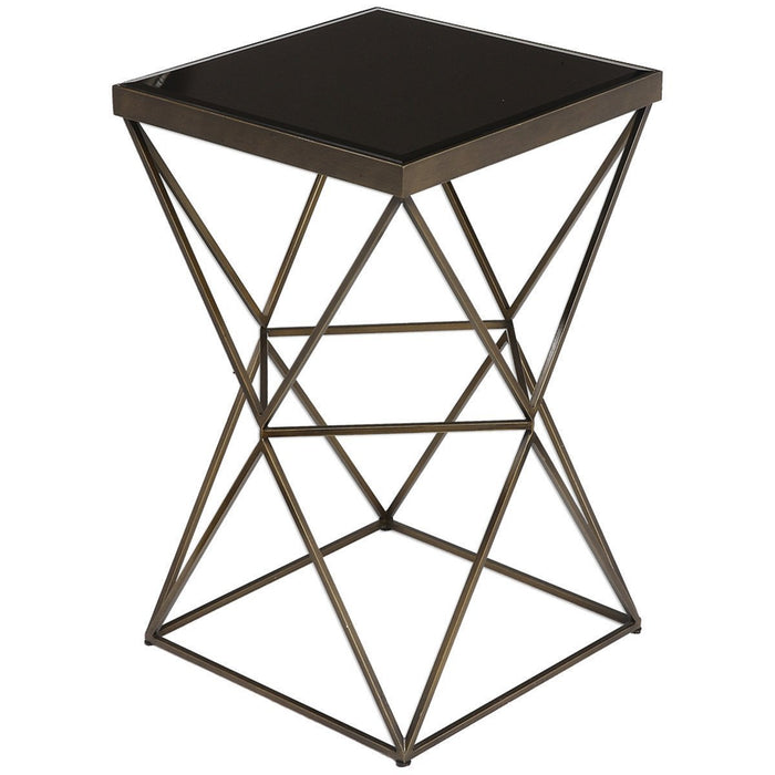 Uttermost Uberto Steel Accent Table