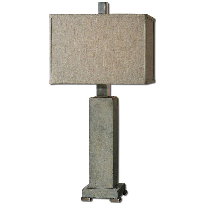 Uttermost Risto Concrete Table Lamp 26543-1