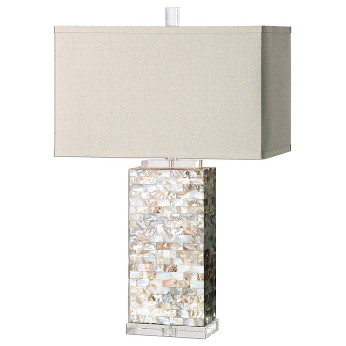 Uttermost Aden Capiz Shell Table Lamp