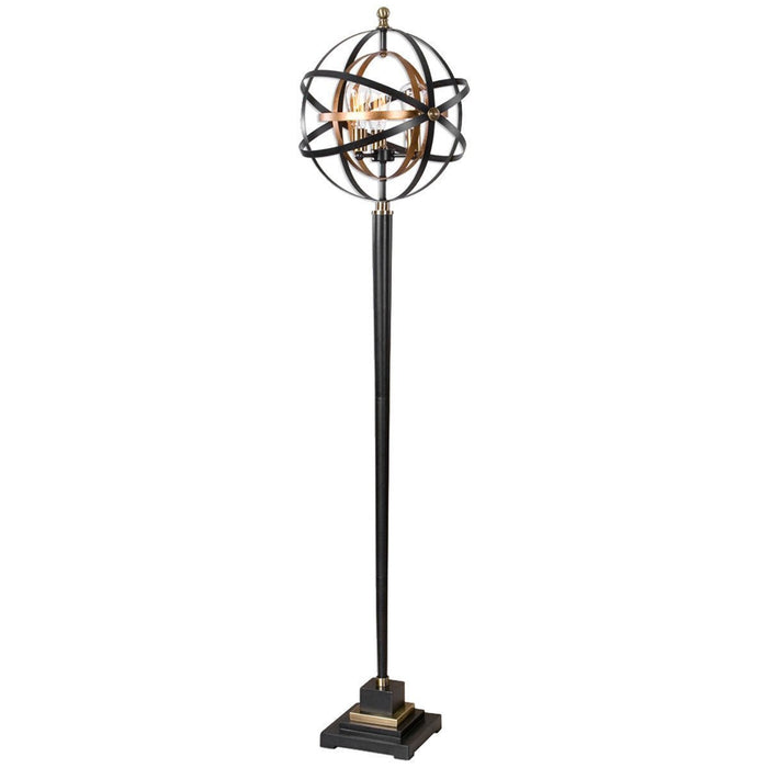 Uttermost Rondure Dark Oil Rubbed Bronze Floor Lamp