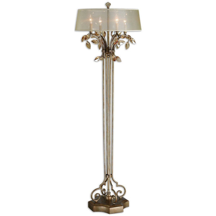 Uttermost Alenya Gold Floor Lamp 28412-1