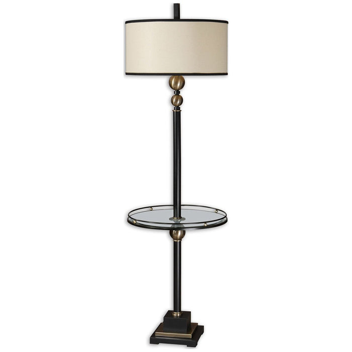 Uttermost Revolution End Table Floor Lamp 28571-1