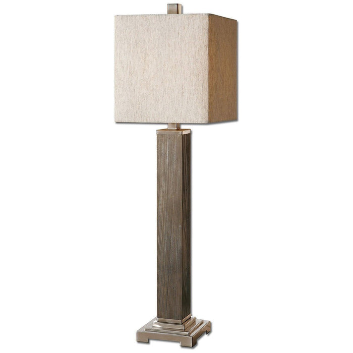 Uttermost Sandberg Wood Buffet Lamp 29576-1