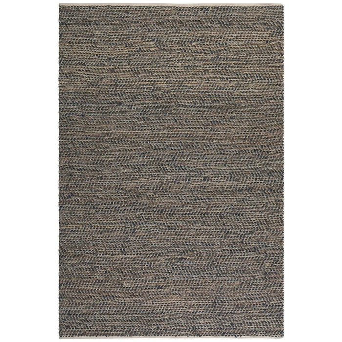 Uttermost Tobais Rescued Leather and Hemp Rug
