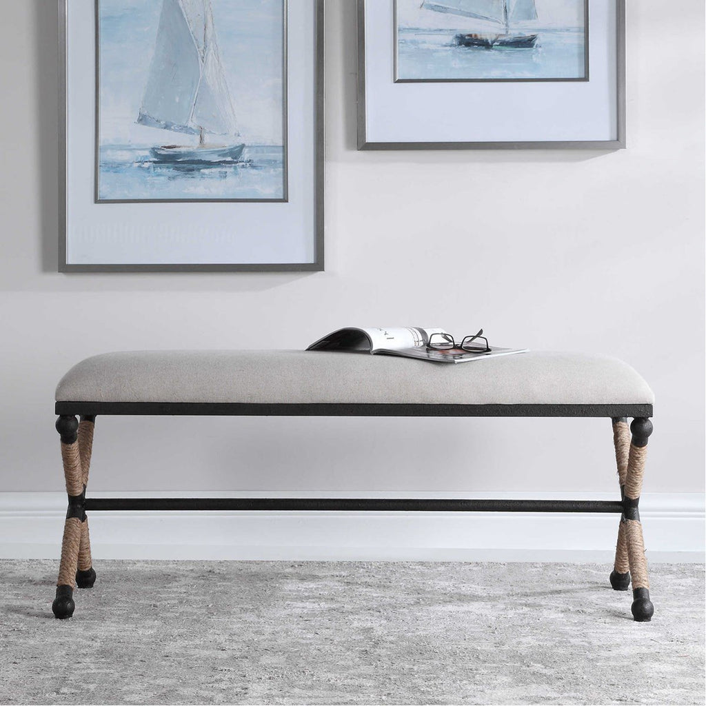 Uttermost Firth Oatmeal Bench