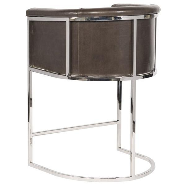 Vanguard Furniture Harrison Channel Back Metal Frame Counter Stool