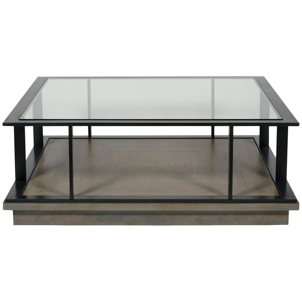 Vanguard Furniture Highland Square Cocktail Table Coffee Tables Stephanie Cohen Home