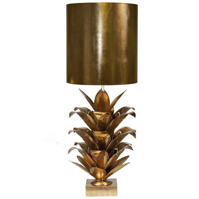 Worlds Away Brutalist Palm Table Lamp ARIANNA G