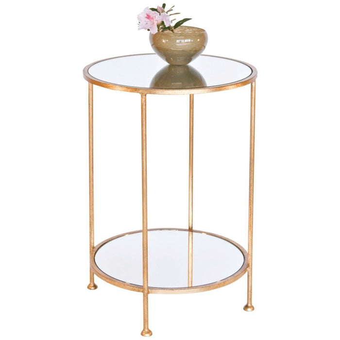 Worlds Away 2 Tier Side Table CHICO G