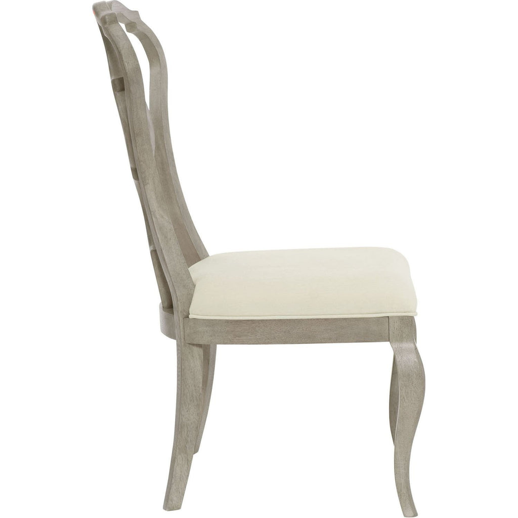 Bernhardt Marquesa Side Chair with Upholstered Slip Seat Set of 2